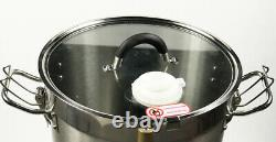 110V Stainless Steel 15L Electric Commercial Food Processor Machine Grinder NEW