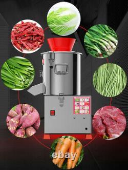 220V Commercial Electric Vegetable Fruit Chopper Home Food Grinder Processor