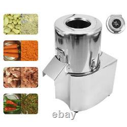 220V Commercial Food Processor Electric Fruit Vegetable Chopper Grinder Machine