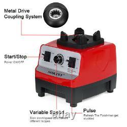 4500W Adjustable Commercial Blender 2L Food Processor Mixer Smoothie Ic