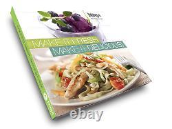 5 PCs Ninja BL770 Mega Kitchen System Blender Food Processor 1500W Auto-iQ Base