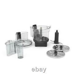 Ascent 12 Cup Clear/Black Food Processor Attachment