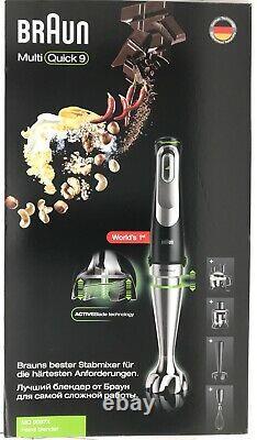 BRAUN MultiQuick 9 MQ9087X Hand Blender MQ9087X Food Processor NEW Multi Quick