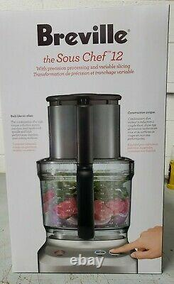 Breville BFP660SIL Sous Chef 12 Cup Food Processor Silver New in Box