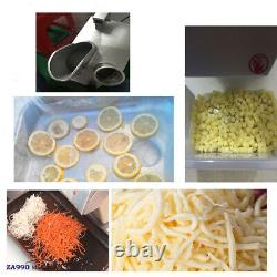 Commercial 550W Electric Food Processor Vegetable Cutter Cooler Depot