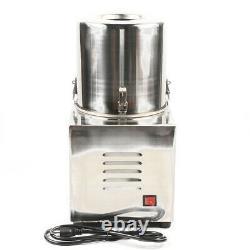 Commercial Electric Vegetable Chopper Grinder Food Processor Machine 110V 550W