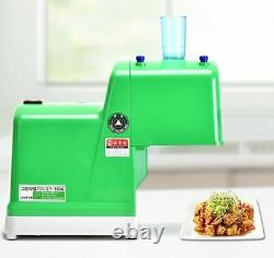 Commercial/Restaurant Electronic Food Processor Scallion Shredder with 0.12 Blade
