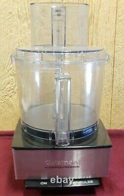 Cuisinart Custom 14 Cup Food Processor Black Chrome With 1 Reg & 3 Disc Blades
