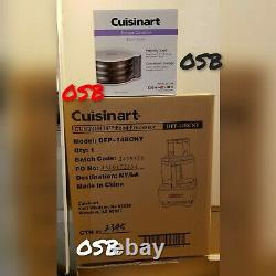 Cuisinart DFP-14BCNY 14 Cup Food Processor Brushed Stainless Steel & DISC HOLDER