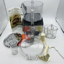 Cuisinart DFP-14BCN Custom 14 Cup Food Processor Brushed Stainless Steel Tested