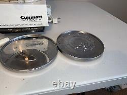 Cuisinart DLC-7 Super Pro 14 Cup Food Processor Made in Japan. Read Description