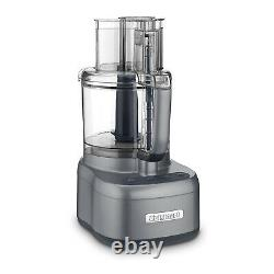 Cuisinart FP-11GM Elemental 11 Cup Food Processor with Chef Knife Set Bundle