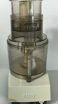 Cuisinart Professional 14 Food Processor DLC7M Made in Japan with Blades