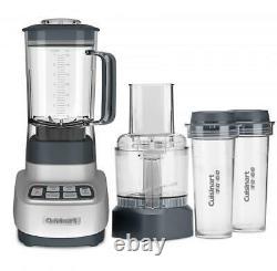Cuisinart Velocity Ultra Trio Blender/Food Processor/Travel Cups Black & Sta