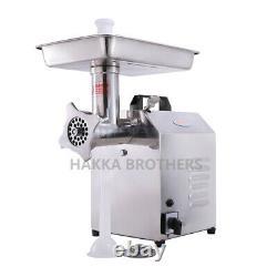 Hakka Electric Commercial Meat Grinder 300W Food Mincer Sausage Filler Processor
