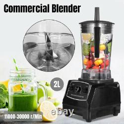 High Speed Food Processor Blender 1500w Juice Milk Soybean Maker 2L Commercial