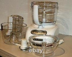 KITCHENAID-FOOD-PROCESSOR-12-Cup-Wide-Mouth With Accessories KFPW760WH3