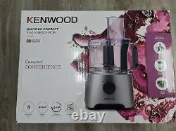 Kenwood 800w Multipro Compact Food Processor FDP302SI 5 Processing Tools 2 Speed