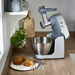 Kenwood Compact Stand Mixer Prospero Plus & 11 Attachments in Silver KHC29. N0SI