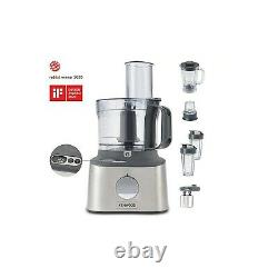 Kenwood FDM312SS MultiPro Compact Food Processor with Scales Stainless Steel