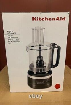 KitchenAid 5KFP0919BER 2.1L Food Processor Empire Red. Free P&P