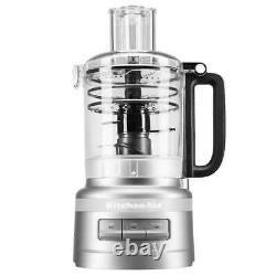 KitchenAid 9 Cup Food Processor Plus Silver