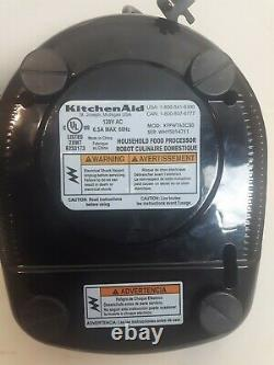KitchenAid Architect KFPW763 12 Cup Food Processor Manual Accessories Case Gray