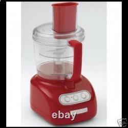 KitchenAid Beautiful Empire Red Food Processor RKFP710ER 7 Cup Powerful