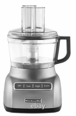 KitchenAid KFP0711CU 7-Cup Exact Slice Food Processor Contour Silver