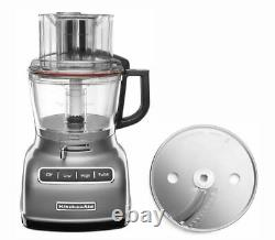 KitchenAid KFP0930ER 9cup Wide Mouth Food Processor Large Exact Slice Silver
