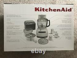 KitchenAid KFP1133WH 11-Cup Food Processor with Exact Slice System White