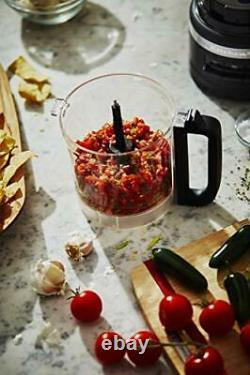 KitchenAid RRKFP0919BM 9-Cup Food Processor Plus Black Matte (Refurbished)