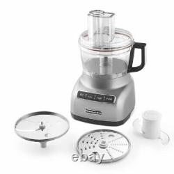 KitchenAid R-KFP0711CU 7Cup Food Processor with Exact Slice System Contour Silver