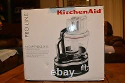 Kitchen Aid Black Pro Line 16-cup Food Processor Commercial Style