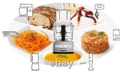 Magimix Compact 3200 XL 650 Watt Multifunction Food Processor Brushed Chrome NEW