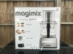 Magimix Cuisine System 5200XL Auto Food Processor Silver