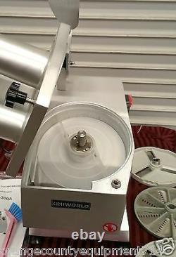 NEW Food Processor Vegetable Chopper Cutter Uniworld FP-300A 2254 Commercial NSF