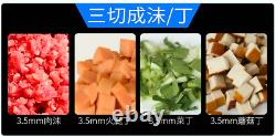 NEW Kitchen Stainless Electric Meat Vegetable Auto Slicer Cutter Food Processor