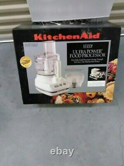 New KitchenAid 11 Cup White Food Processor made in France