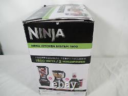Ninja BL770 Blender Food Processor 1500W 72oz Pitcher, 64oz Processor Bowl
