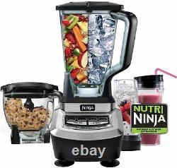 Ninja BL780 Supra 1200 Watt Food Processor and Kitchen (Refurbished)