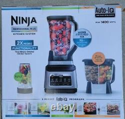Ninja Foodi System Professional Auto-iQ, Blender Food Processor Combo NEW SEALED