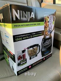 Ninja Mega Kitchen System (BL770) Blender/Food Processor with 1500W Auto-iQ