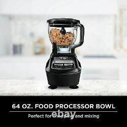Ninja Mega Kitchen System (BL770) Blender/Food Processor with 1500W Auto-iQ Base