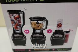 Ninja Mega Kitchen System Blender/Food Processor BL770 With 1500W (3B)