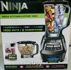 Ninja Mega Kitchen System Blender/Food Processor BL770 With 1500W (8B)