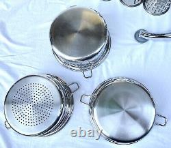 SALADMASTER Set TP304-316 Surgical Stainless Steel Cookware Food Processor