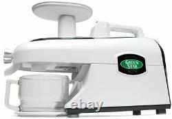 Tribest GSE-5000 Green Star Elite Wheatgrass & Fruit Juicer Food Processor 220V