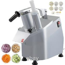 VEVOR Commercial Food Processor Vegetable Cheese Cutter with 6 Disks, CE Approved