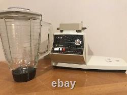 Vintage Oster Regency Kitchen Center 12 Speed Mixer Blender With Accessories
